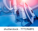 x ray room in a hospital.... | Shutterstock . vector #777196891