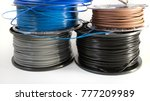 filament for 3d printing | Shutterstock . vector #777209989
