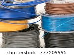 filament for 3d printing | Shutterstock . vector #777209995