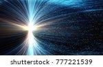data transmission channel.... | Shutterstock . vector #777221539