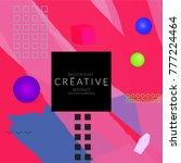 minimal universal banner...   Shutterstock .eps vector #777224464