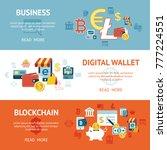 digital vector bitcoin... | Shutterstock .eps vector #777224551