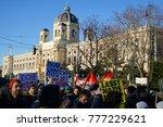 vienna  austria. 18th december... | Shutterstock . vector #777229621