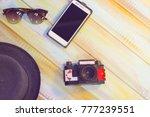 men's summer vacation... | Shutterstock . vector #777239551