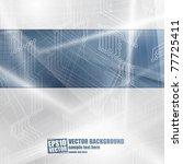 abstract vector background | Shutterstock .eps vector #77725411