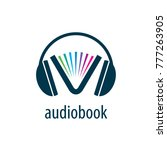 audiobook. vector logo template | Shutterstock .eps vector #777263905