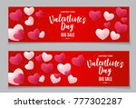 valentine's day love and... | Shutterstock .eps vector #777302287