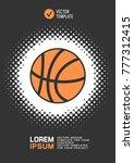 brochure or web banner design... | Shutterstock .eps vector #777312415