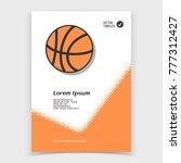 brochure or web banner design...   Shutterstock .eps vector #777312427