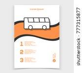 brochure or web banner design... | Shutterstock .eps vector #777315877