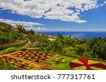 botanical garden monte  funchal ... | Shutterstock . vector #777317761