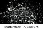abstract flying large and small ... | Shutterstock . vector #777331975