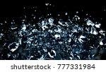 the destruction of the glass... | Shutterstock . vector #777331984