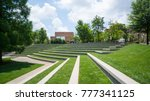 A Grassy Amphitheatre With...