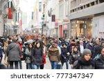 brussels  belgium   december 9  ... | Shutterstock . vector #777347347