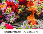 memorial to memory of unknown... | Shutterstock . vector #777353671