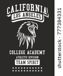 california los angeles college... | Shutterstock .eps vector #777384331