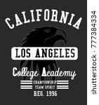 california los angeles college... | Shutterstock .eps vector #777384334