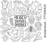 mexico travel elements...   Shutterstock .eps vector #777396925