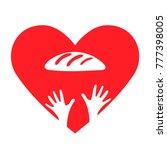 stop hunger  malnutrition or... | Shutterstock .eps vector #777398005