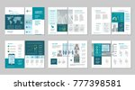 brochure creative design.... | Shutterstock .eps vector #777398581