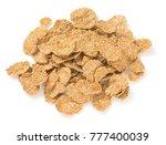 wholegrain flakes isolated | Shutterstock . vector #777400039