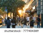 new york city   circa 2017  man ... | Shutterstock . vector #777404389