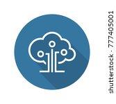 cloud technology icon. modern... | Shutterstock .eps vector #777405001