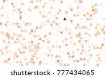 dark blue vector abstract...   Shutterstock .eps vector #777434065