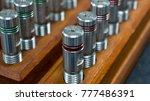 Small photo of Thread master gauge set in metrology lab