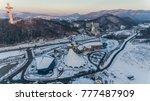 pyeongchang  south korea ... | Shutterstock . vector #777487909