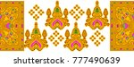seamless traditional indian... | Shutterstock . vector #777490639