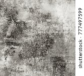 gray vintage grunge background | Shutterstock . vector #777497599