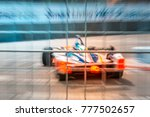 abstract motion blur racing... | Shutterstock . vector #777502657