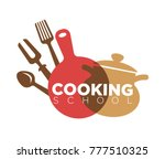 cooking school advertisement... | Shutterstock .eps vector #777510325