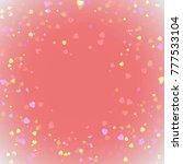 heart valentine light pink...   Shutterstock .eps vector #777533104