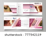 set of business templates for... | Shutterstock .eps vector #777542119