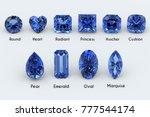 ten the most popular diamond... | Shutterstock . vector #777544174