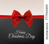christmas greetings card with...   Shutterstock .eps vector #777554305