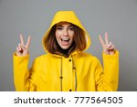 close up portrait of a cheery...   Shutterstock . vector #777564505