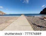machico  madeira  portugal  ... | Shutterstock . vector #777576889
