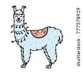 vector illustration of cute... | Shutterstock .eps vector #777578929