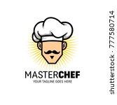 chef mascot logo  | Shutterstock .eps vector #777580714