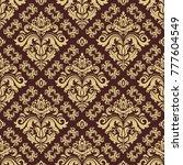 classic seamless vector pattern.... | Shutterstock .eps vector #777604549