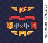 game tournament achievement...   Shutterstock .eps vector #777626794