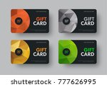 vector gift card design in... | Shutterstock .eps vector #777626995