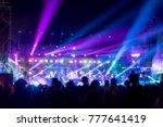 blurred background   bokeh... | Shutterstock . vector #777641419