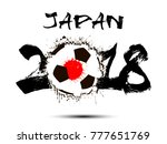 abstract number 2018 and soccer ...   Shutterstock .eps vector #777651769