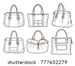 Collection Of Women's Handbags...