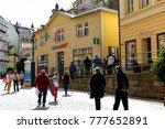 karlovy vary  czechia  ... | Shutterstock . vector #777652891